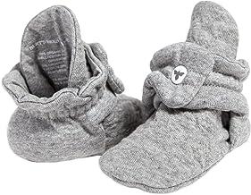 Burt's Bees Baby Baby Booties, Organic Cotton Adjustable Infant Shoes
