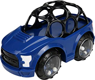 Bright Starts Ford Rattle & Roll F-150 Raptor Easy Grasp Push Vehicle Toy, Ages 3 Months +