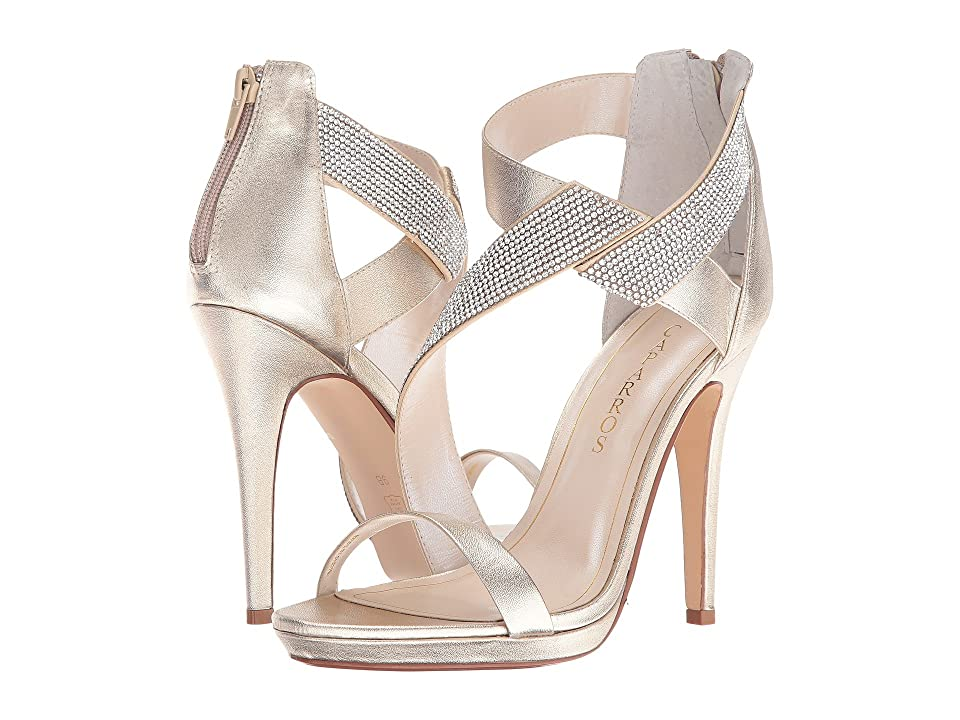 Caparros Fantastic (Platino/Clear Metallic) High Heels