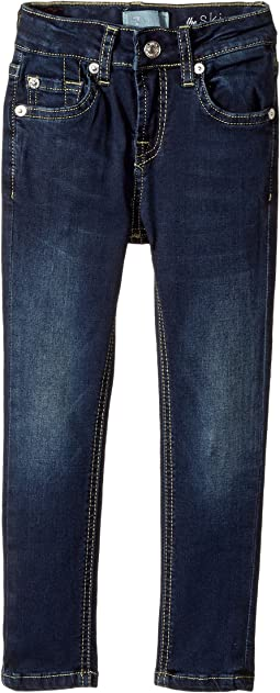 7 For All Mankind Kids - Denim Jeans in Dark Canterbury (Little Kids)