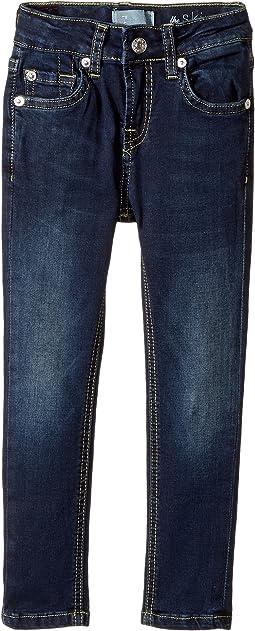 7 For All Mankind Kids - Denim Jeans in Dark Canterbury (Little Kids)