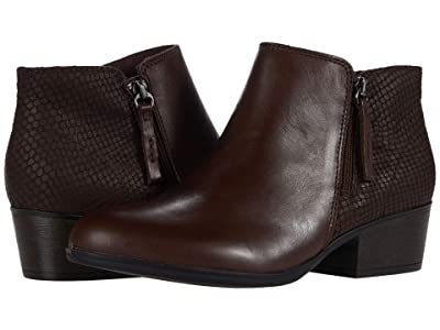 Clarks Bell Hope (Brown Leather) Women