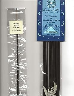 FRED SOLL'S 樹脂製インクオンザスティックホワイトセージ&ドラゴンブラッドインセンス 1 STICK