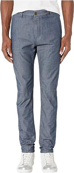 New Five-Pocket Stretch Wool Pants