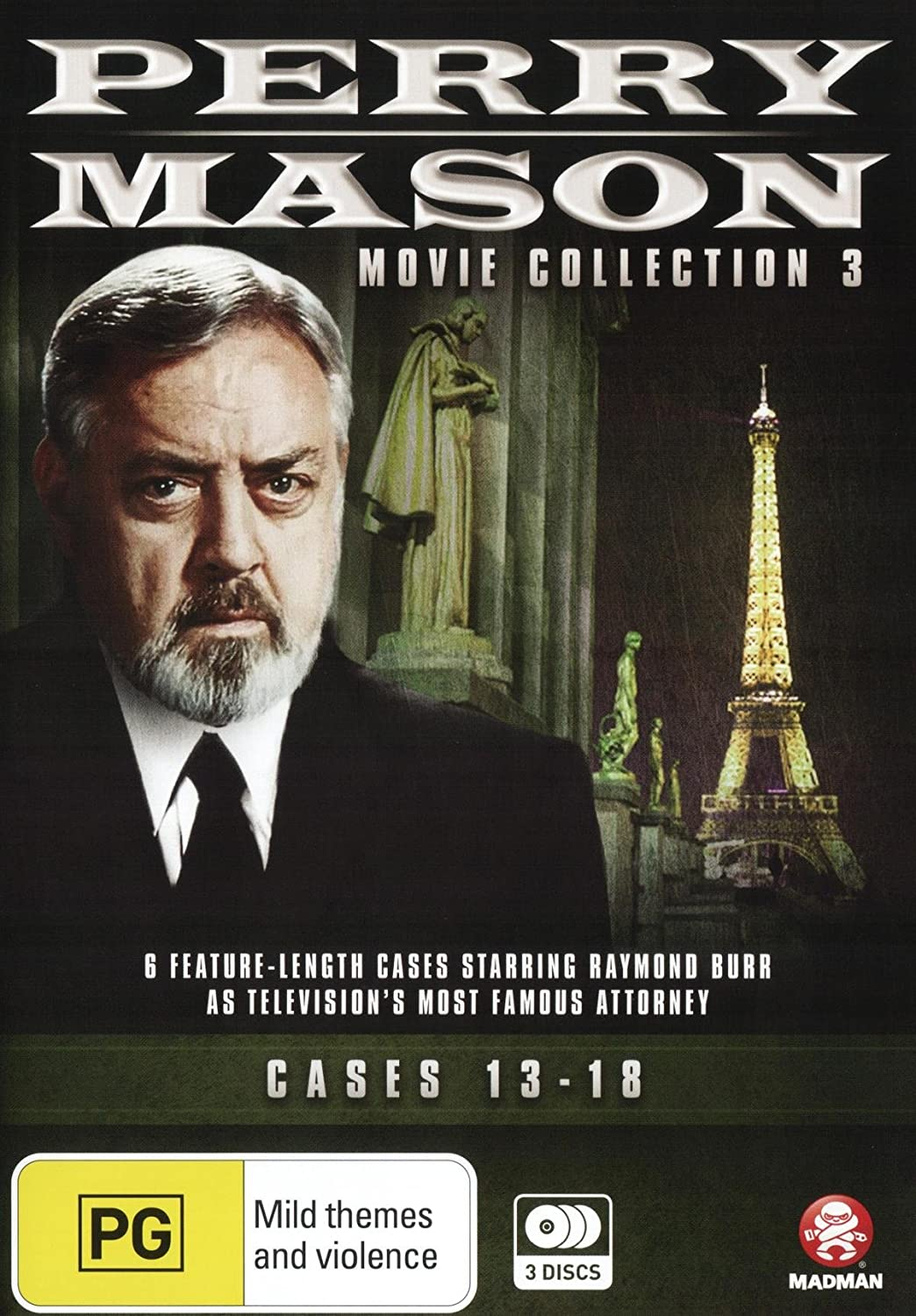 Perry Mason: Movie Super Ranking TOP2 popular specialty store Collection 3: Format 13-18 NON-USA Cases Re
