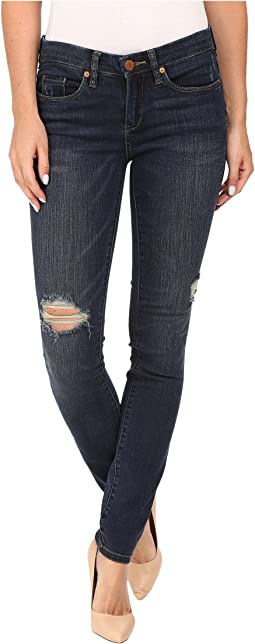 Dark Denim Distressed Skinny in Junk Drawers
