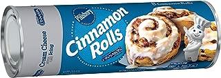 Pillsbury Cinnamon Rolls, Cinnabon Cinnamon with Cream Cheese Icing, 8 Rolls, 12 oz. Can