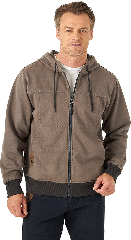 Opening large release sale Wrangler Riggs Workwear Trust Men's Tough Full Zip Work Hoodie Layers