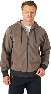 Wrangler Riggs Workwear Men's Tough Layers Full Zip Work Hoodie
