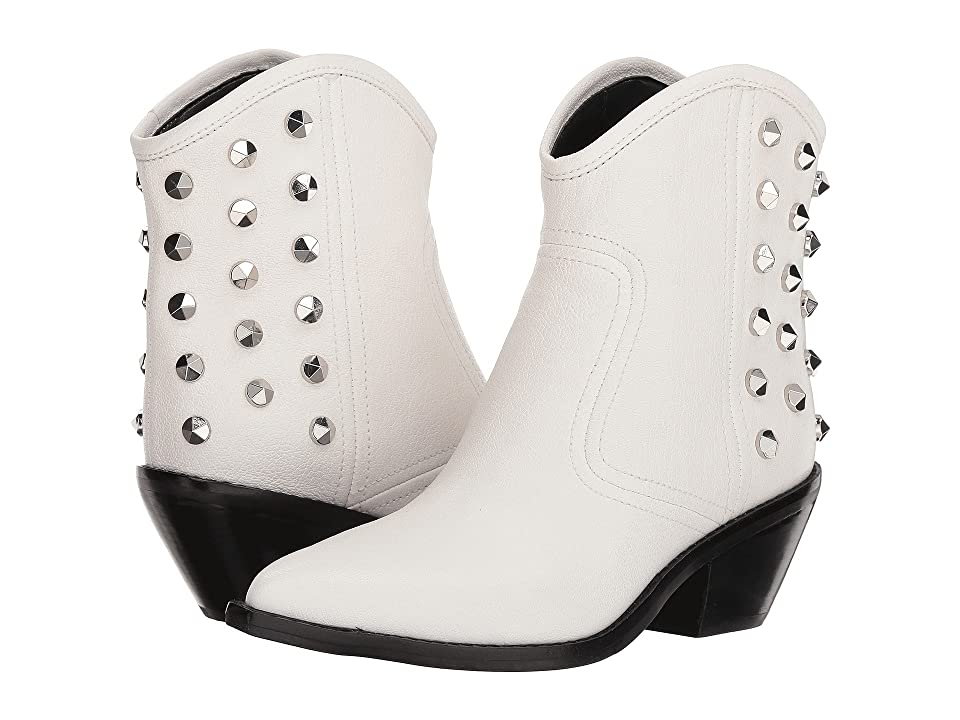 Marc Fisher LTD Baily (White Leather) Cowboy Boots
