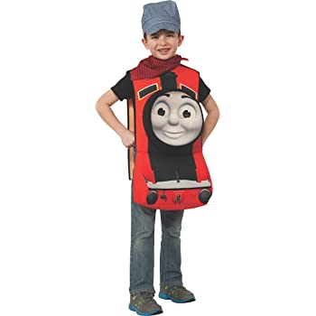 Child Small Rubies Thomas and Friends Deluxe 3D Thomas The Tank Engine Costume