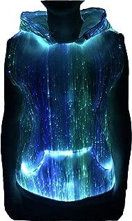 Best fiber optic sleeveless hoodie Reviews