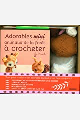 Adorables mini animaux de la forêt à crocheter Broché