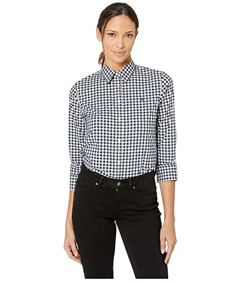 c020577b7 LAUREN Ralph Lauren No-Iron Button Down Shirt at Zappos.com