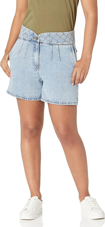 Lola Jeans Women's Pleated Shorts