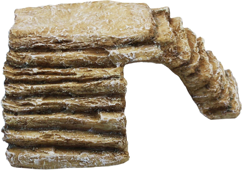 Happy Pet Komodo Basking Rock & Hide Sandstone Large