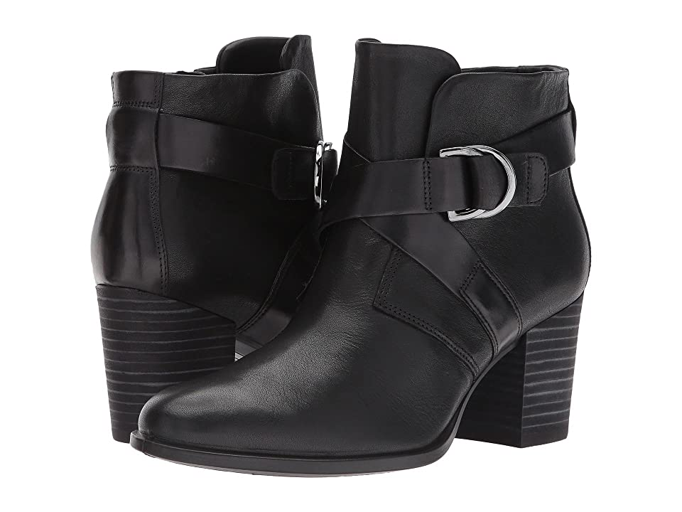 ECCO Shape 55 Mid Cut Boot (Black/Black) Women
