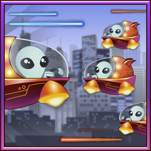 Big City Laser Combat: Alien vs Alien