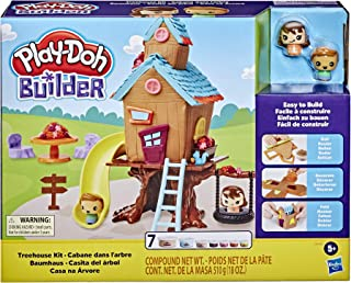 Play-Doh Builder Treehouse Toy Building Kit for Kids 5...