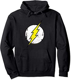 DC Comics Flash Distressed Logo Sweat à Capuche