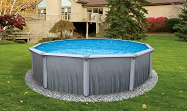 """Blue Wave NB2615 Martinique 27` Round 52"""" Steel Pool in"""