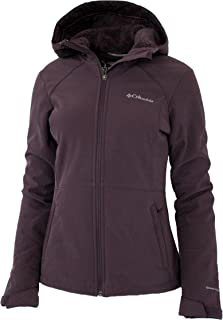 Columbia Women's Alpine Fir Windproof Fleece Lined Softshell Hooded Jacket (XSmall)