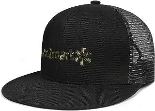ZTUO Walmart-Army-Camouflage-Near-me- Mesh Flat Brim Baseball Cap Plain Snapback Hat
