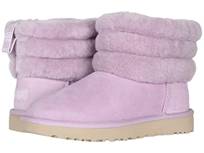 UGG Fluff Mini Quilted (California Aster) Women