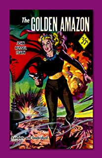 Retro Sci Fi Journal, The Golden Amazon by Monkey up a Tree