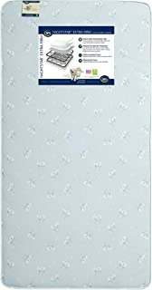 Serta Nightstar Extra Firm Innerspring Crib and Toddler Mattress | Waterproof | GREENGUARD Gold Certified (Natural/Non-Toxic)