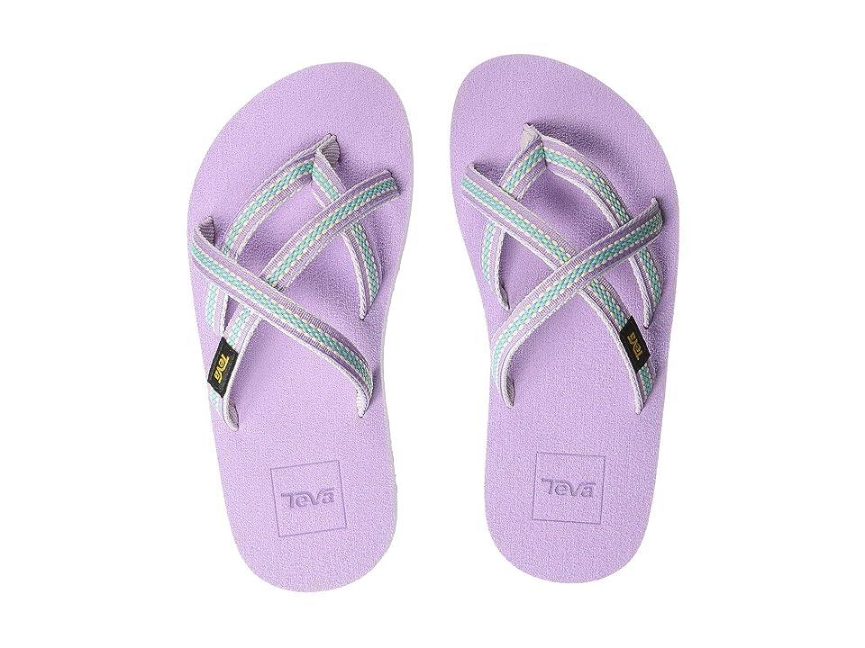 Teva Kids Olowahu (Little Kid) (Lindi Orchid Bloom) Girls Shoes