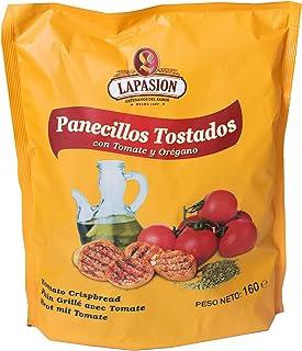 LAPASION - Panecillos tostados con tomate y orégano 160g