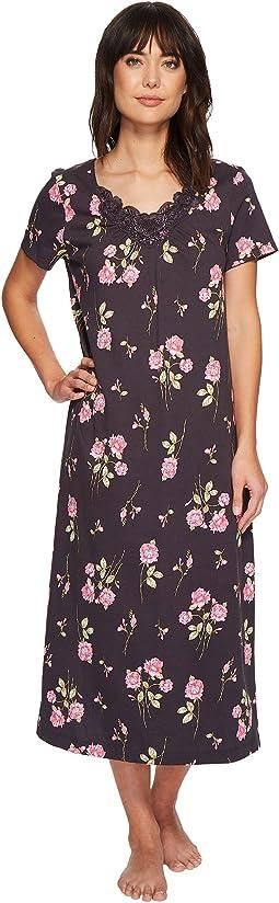 Carole Hochman - Soft Jersey Short Sleeve Gown