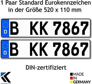 Suchergebnis Auf Für Nummernschilder Kennzeichenkaufen Nummernschilder Autozubehör Auto Motorrad