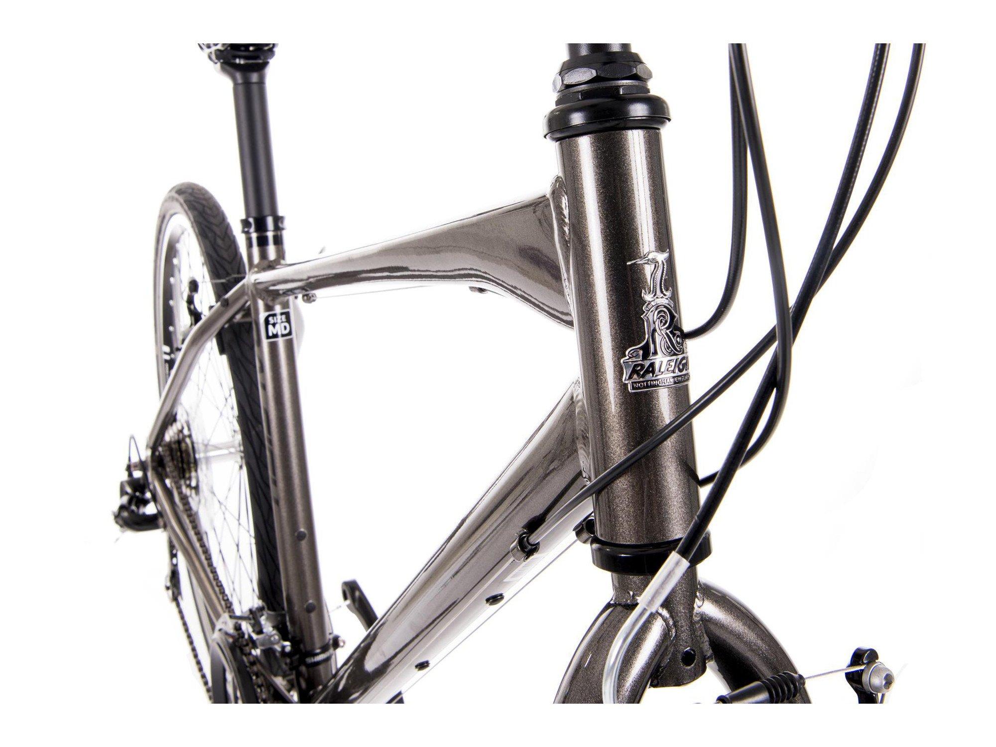 Raleigh Strada 1 – Bicicleta híbrida de 650B 21 velocidades bicicleta gris, gris: Amazon.es: Deportes y aire libre