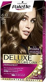 Schwarzkopf Palette Deluxe Oil Care Color 6-0 Dark Brown