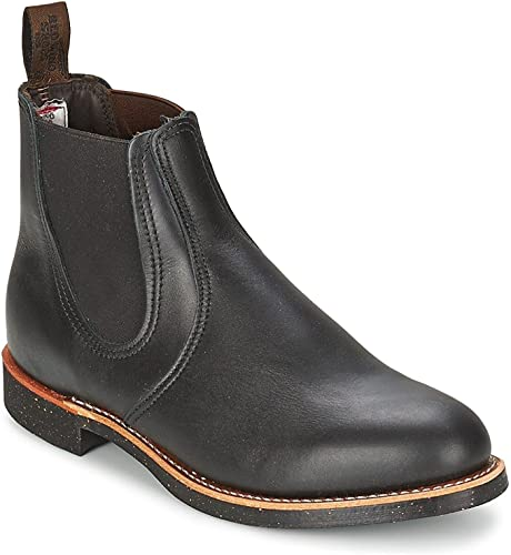 rot Wing Mens Rancher Chelsea 8200 Leather Stiefel