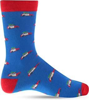 Christmas Socks For Men Crazy Dress Socks For Men: Mens Funny, Cool, Funky, Colorful Holiday