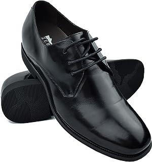 7b9b6a987043 Zerimar Zapatos con Alzas Hombre  Zapatos de Hombre con Alzas Que Aumentan  su Altura +