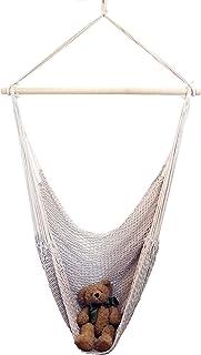 ハンモックチェア吊り上げベルト付 コットン ハンモック リラックスチェア リビング デッキ ベランダ バルコニー キャンプ
