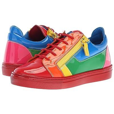 Giuseppe Zanotti Kids Ver Sneaker (Little Kid) (Multi) Girl