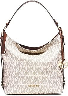 MICHAEL Michael Kors Bedford Belted Large Shoulder Bag (Vanilla)