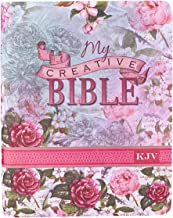 KJV Holy Bible, My Creative Bible, Silky Floral Faux Leather Flexcover w/Ribbon Marker, King James Version