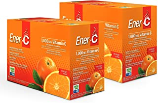 Sponsored Ad - Ener-C - Vitamin C Immune Support, 1000mg Vitamin C Effervescent Multivitamin Drink Powder, Fruit Juice Vit...
