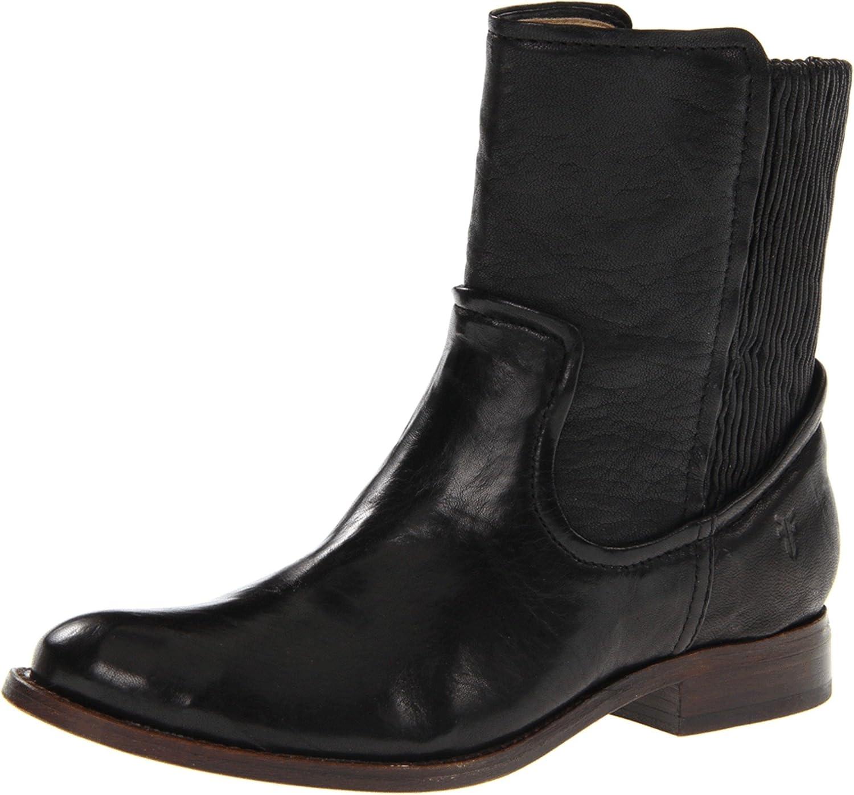 FRYE Women's 2021 spring and summer new Charlotte Mall Melissa Short Scrunch Boot