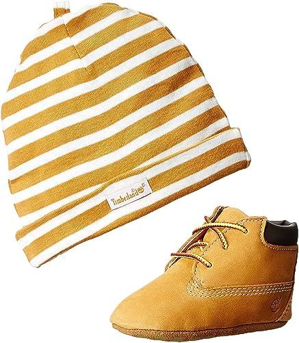 Timberland Crib Bootie with Hat (Infant), Bottes Classiques Mixte bébé