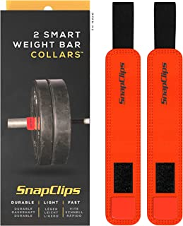 """SnapClips Barbell Collars 
