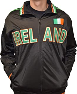 Ireland Full Zip Sport Track Jacket