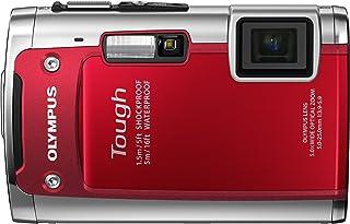 OLYMPUS 防水デジタルカメラ TOUGH TG-610 レッド 5m防水 1.5m耐落下衝撃 -10℃耐低温 1400万画素 3Dフォト機能 Eye-Fiカード対応 TG-610 RED
