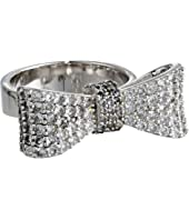 King Baby Studio - Baby Bow Ring Pave Cz